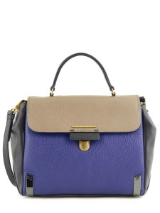 Sac Marc Jacobs sheltered island cuir_bleu