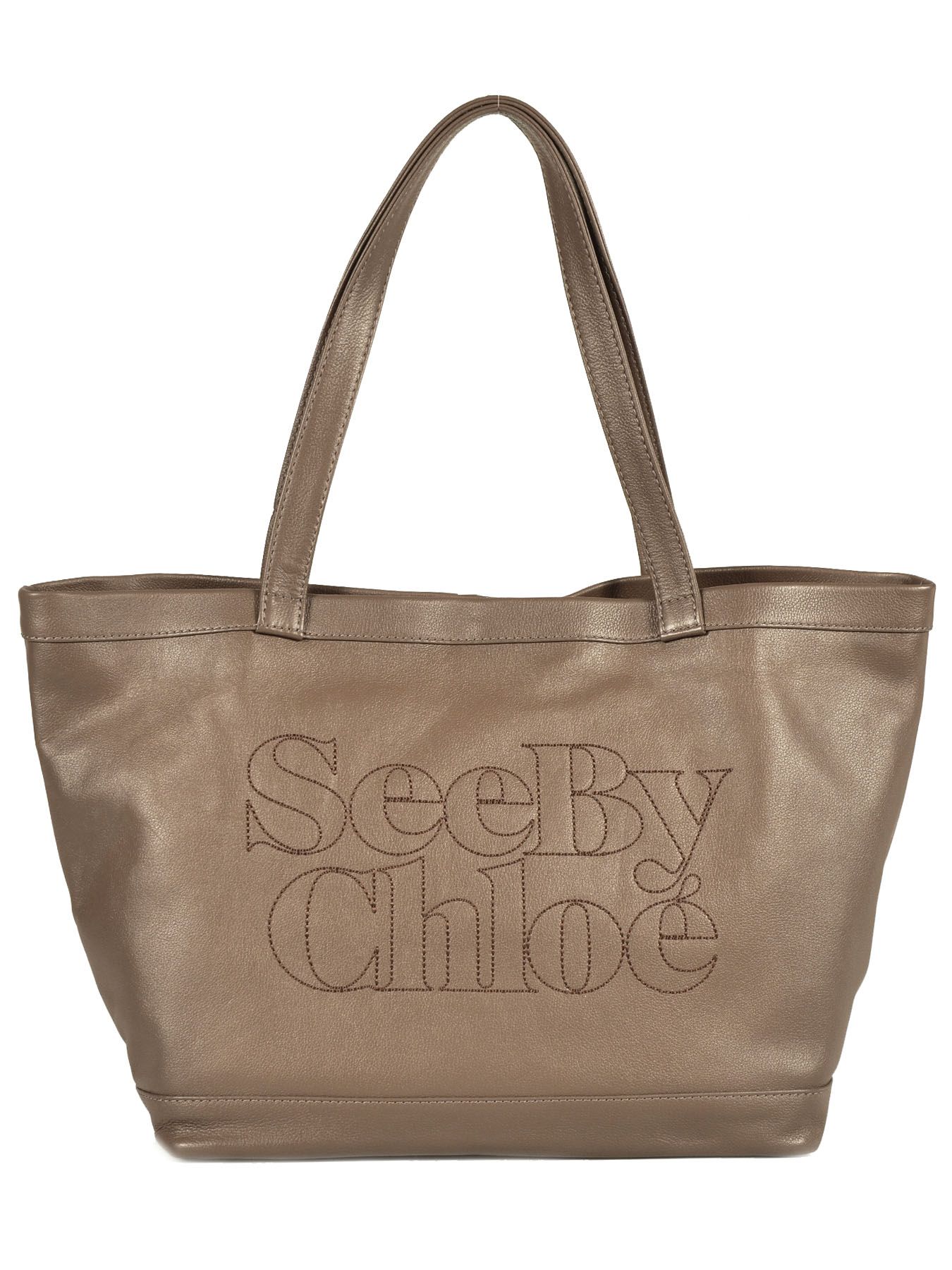 Sac See By Chloe cabas Zip file leather