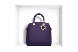 Sac a main de luxe Dior Granville Tote violet