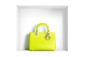 Sac de luxe Diorissimo jaune