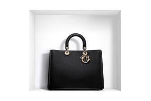 sac a main de luxe Diorissimo noir