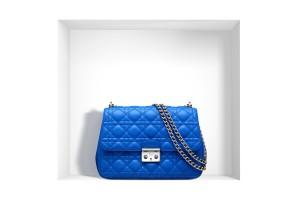 sac a main de luxe Miss Dior bleu